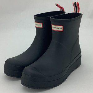 Hunter | Women's Rain Boot | Short | Black | Matte